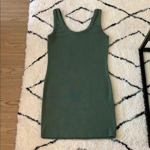 FN ribbed bodycon mini dress